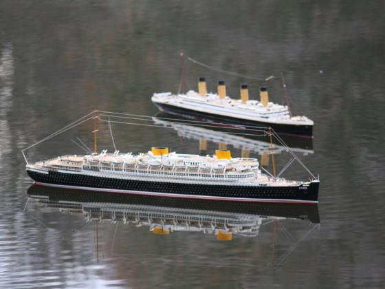 Die SS Bremen auf dem Lake Seiler am 01.12.2019