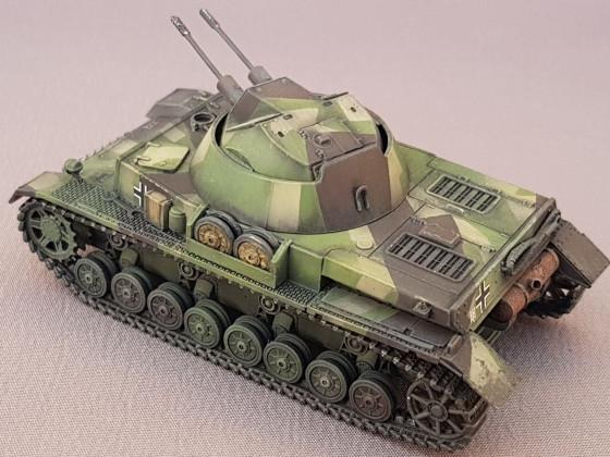 Flakpanzer IV Kugelblitz Projekt