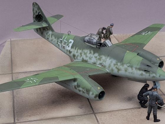Me262, Adolf Galland, Tamiya 1/48