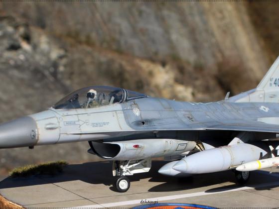 """F-16 CJ  Block 52    """" Fighting Hawks Spangdahlem """"      1-48"""