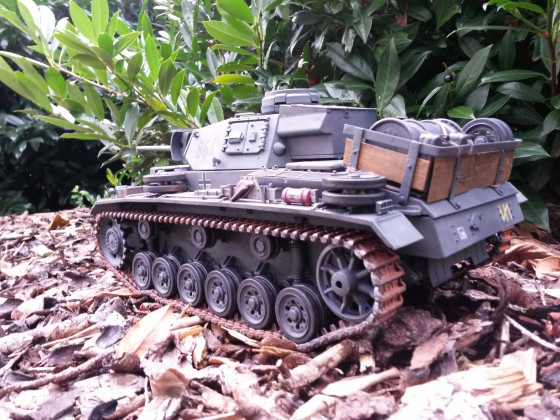 RC Panzer lll 1:16