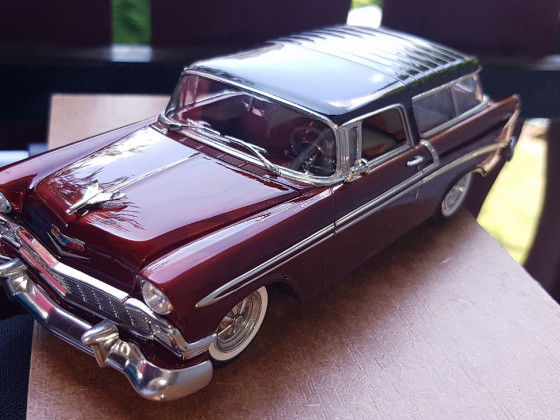 1956 Chevrolet Nomad im Candy-Look